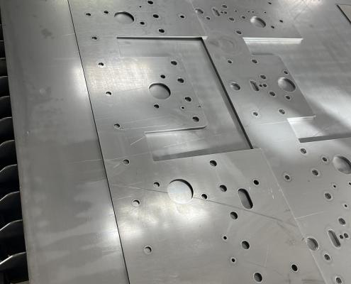 12 gauge Steel Laser